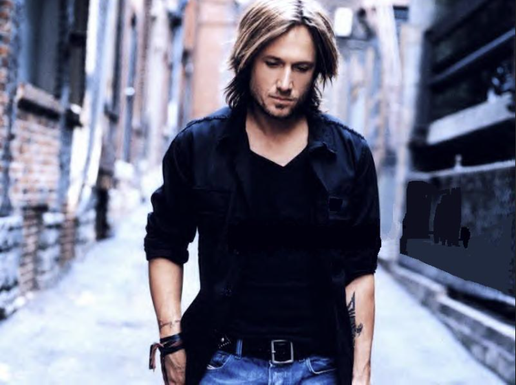 Keith Urban video Melissa Laskin 750 X 560