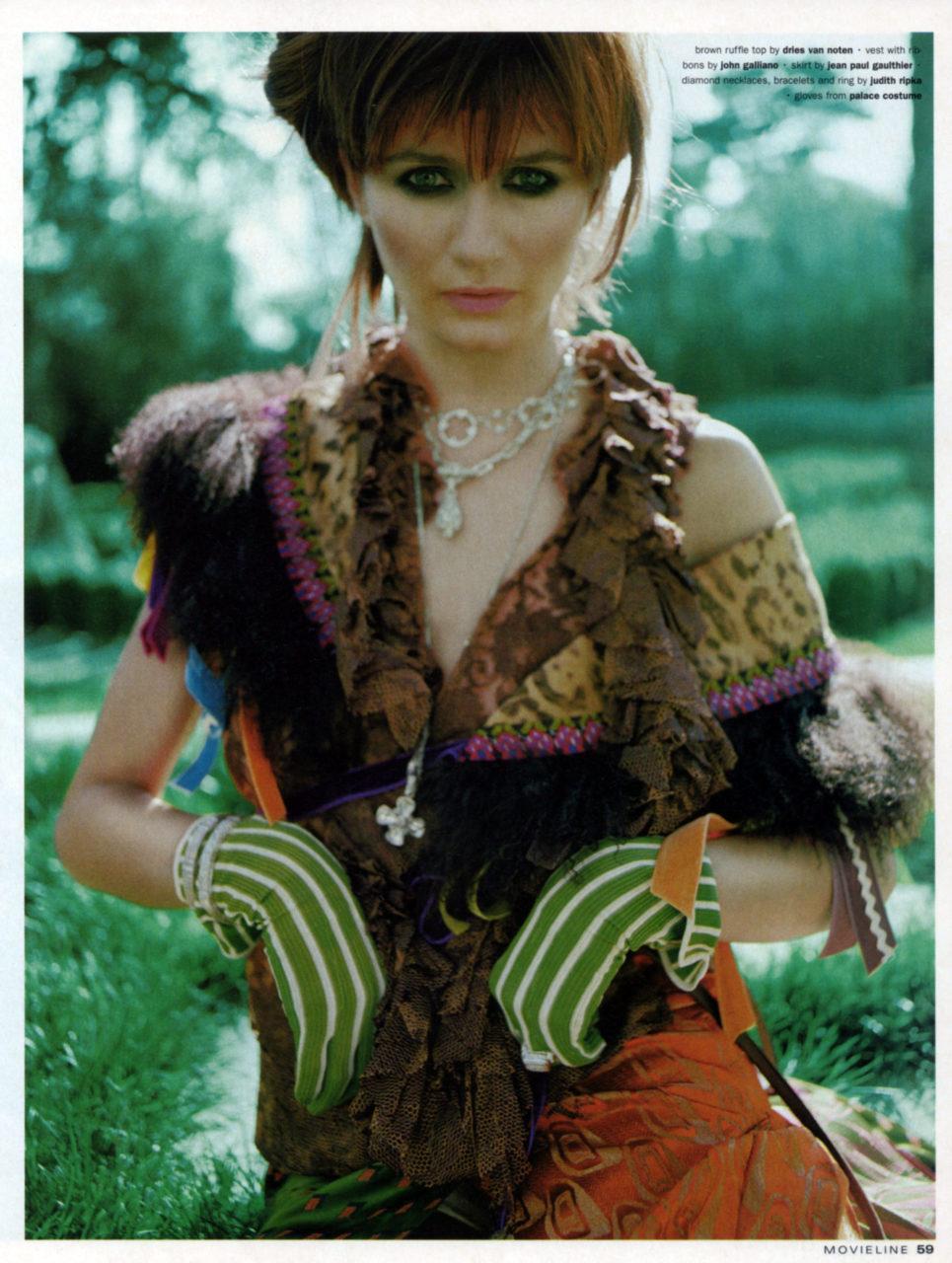 Melissa Laskin Emily Mortimer gloves