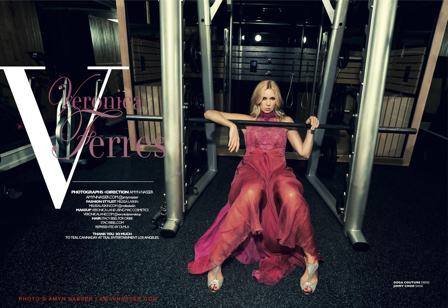 Veronica Ferres : Gordana dress- Melissa Laskin1550