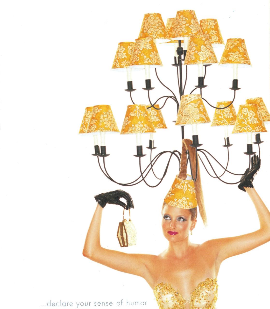 2 Rodeo lampshade Melissa Laskin stylist