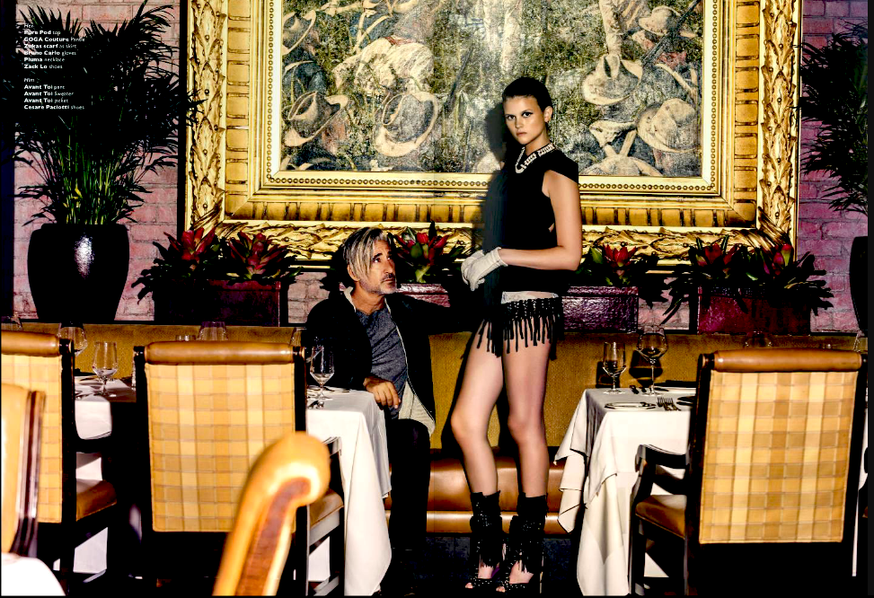 Mission Inn restaurant Melissa Laskin fashion celebrity stylist