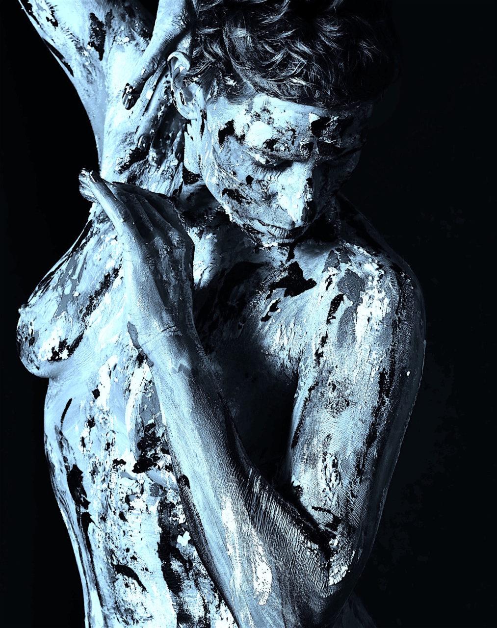 Angela Melissa Laskin fashion celebrity stylist fine art body painting