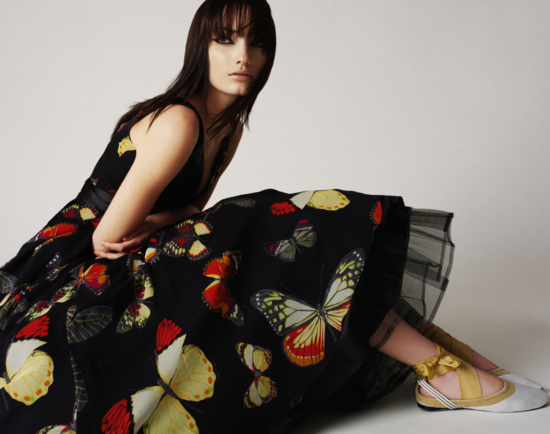 Flower Dress Melissa Laskin
