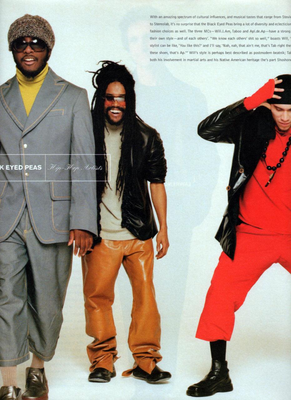 Melissa Laskin Black Eyed Peas