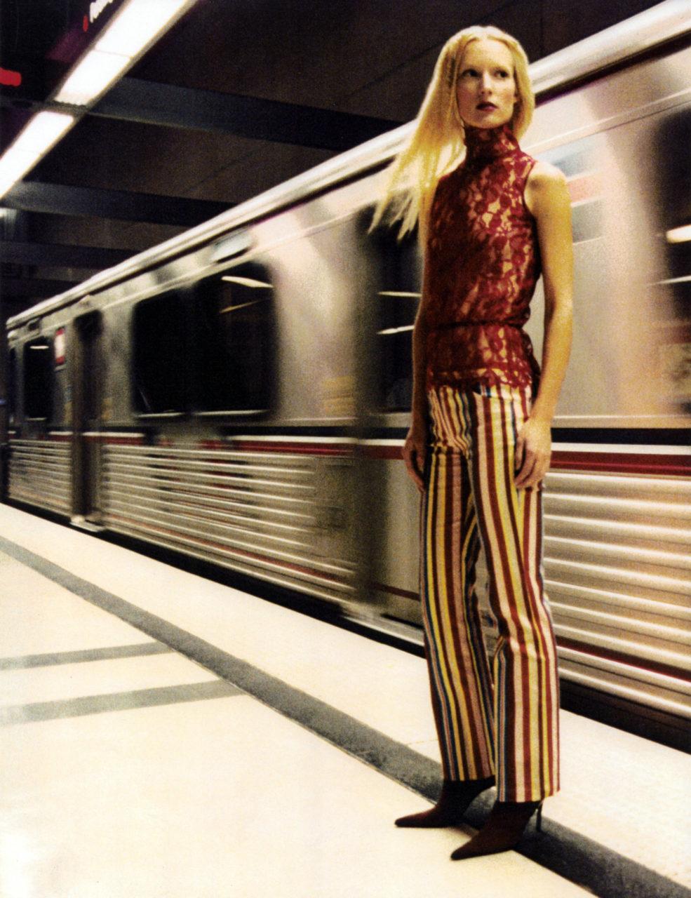 Melissa Laskin train