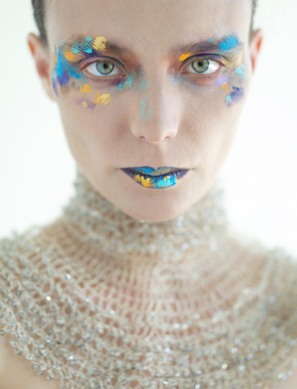 Kira Caeser melissa Laskin fashion celebrity stylist fine art body painting