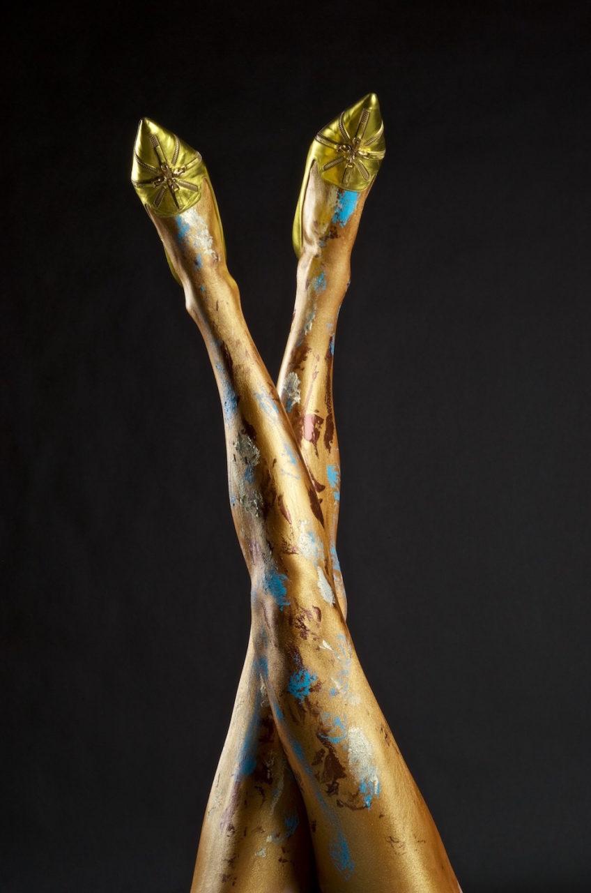 Melissa Laskin fashion celebrity stylist fine art body painting