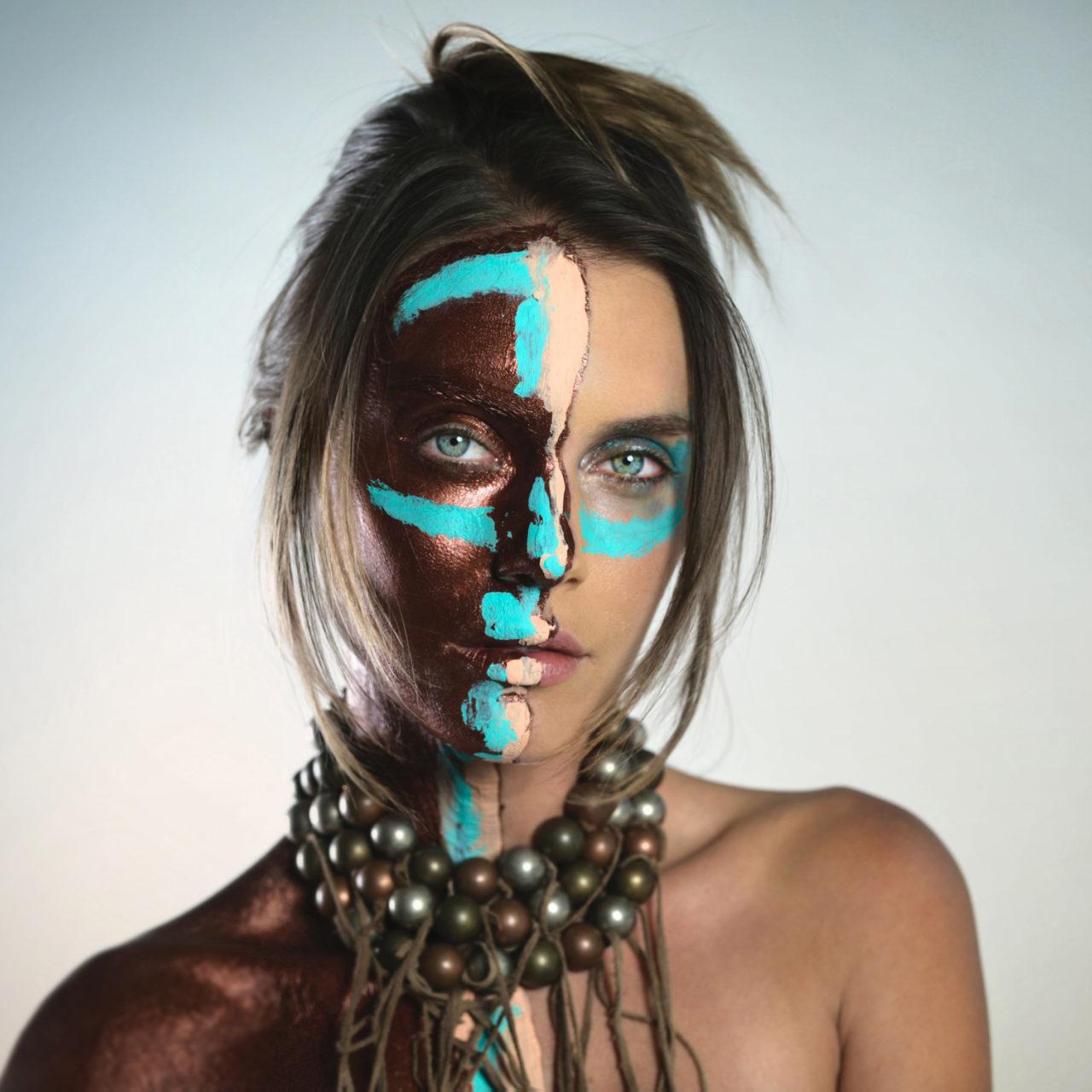 BODY ART painting Melissa Laskin fine art fashion celebrity stylist